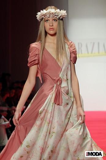 Состоялся коллективный показ журнала Grazia на Mercedes-Benz Fashion Week Russia