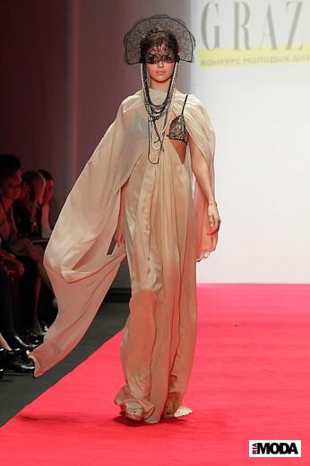Состоялся коллективный показ журнала Grazia на Mercedes-Benz Fashion Week Russia - 3
