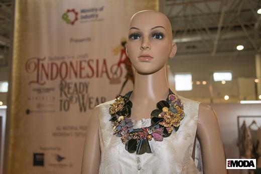 На стенде индонезийских участников CPM. Фотография Ирины Щелкуновой, ИА «РИА Мода»