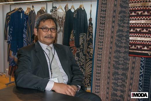 Ахмад Сиджит Двивахойно, Министерство промышленности Республики Индонезия. Фотография Ирины Щелкуновой, ИА «РИА Мода»