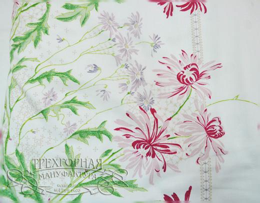 20111107 «Трехгорная мануфактура», коллекция белья «Нежная хризантема». Фотографии предоставлены компанией.