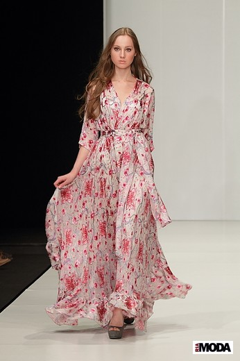 Американский дизайнер Von Vonni представил коллекцию (сезон весна - лето 2012) на MBFWR