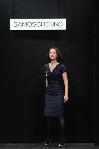 20091019 Показ коллекции Ольги Бровкиной (весна-лето/2010). Фотография Александра Азарова, агентство «Артефакт»