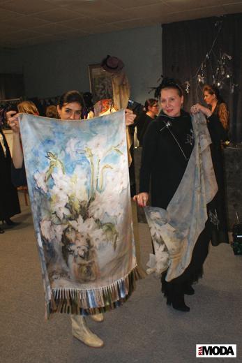20091211 На фотосессии от бутика Markalina. Алина Хабибуллина и Нина Пони. Фотография Александра Кузнецова, ИА «РИА МОДА»
