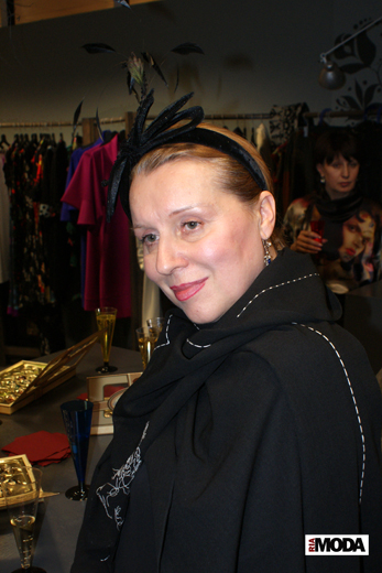 20091211 На фотосессии от бутика Markalina. Нина Пони. Фотография Валентины Кузнецовой, ИА «РИА МОДА»