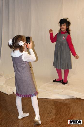 20091211 Фотосессия в бутике «MARKALINA». Посетители бутика. Фотография Александра  Кузнецова, ИА «РИА МОДА»