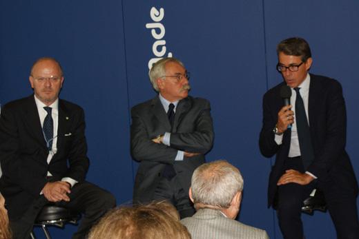 20090907 Пресс-конференция Made in Italia CPM. Фотография Александра Кузнецова, ИА «РИА МОДА».