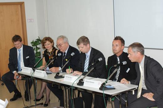 20090908 CPM. Пресс-конференция организаторов. Фотография Александра Кузнецова, ИА «РИА МОДА».