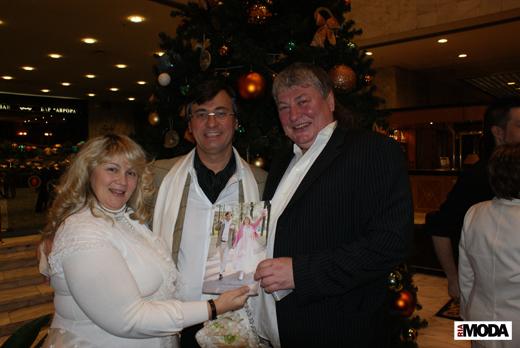20091212 «Бал Ангела». Наталья Канивец (Слева), Владимир Шихалеев (справа). Фотография Дэниела Андерсона, ИА «РИА МОДА»