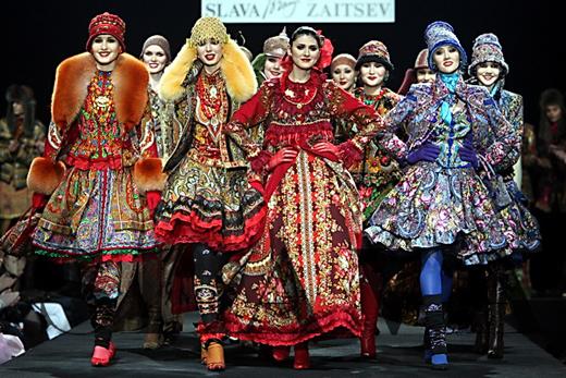 Коллекция «Истоки». Фотография с сайта Slava Zaitsev.